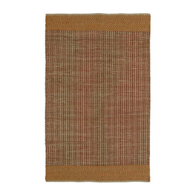 Kaleen Colinas Border Reversible Wool Jute Rectangular Rug