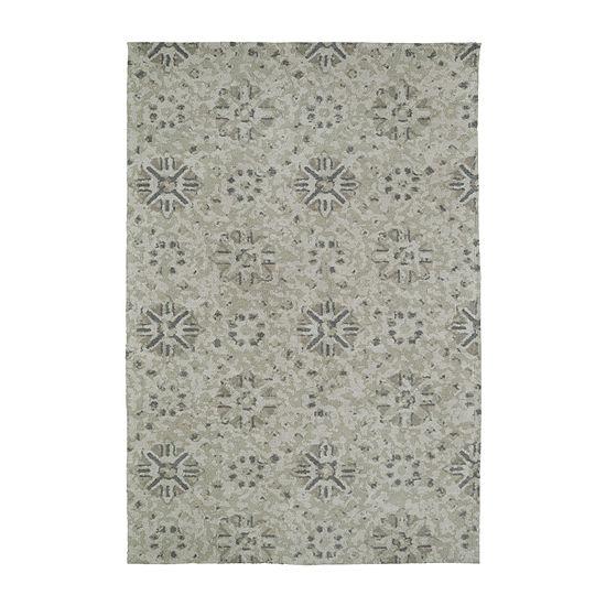 Kaleen Cozy Toes Mosaic Rectangular Rug