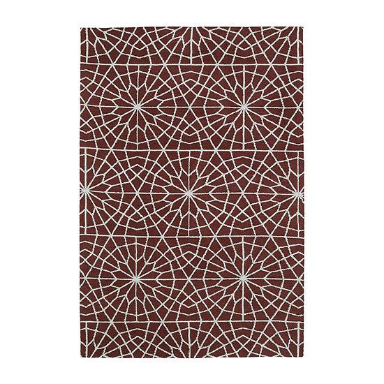 Kaleen Cozy Toes Tile Garden Rectangular Rug