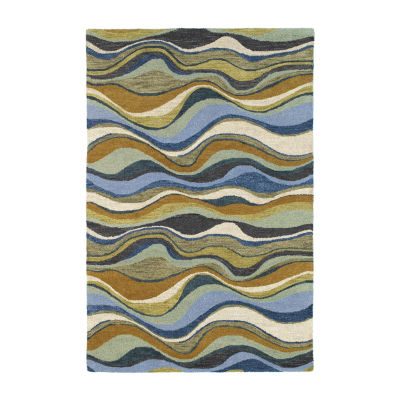 Kaleen Casual Alder Hand-Tufted Wool Rectangular Rug