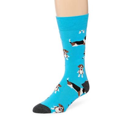 Fun Socks Fun Socks 1 Pair Crew Socks-Mens