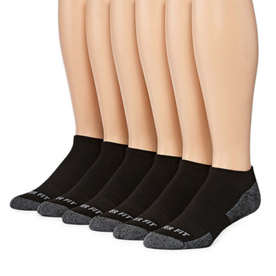 Copper Fit 6 Pair Low Cut Socks - Men's