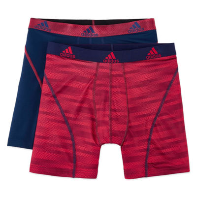 adidas® 2-pk. Sport Performance climalite® Graphic Boxer Briefs