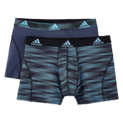 adidas® 2-pk. Sport Performance climalite® Graphic Trunks