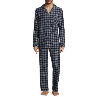 Stafford Men's Flannel Pajama Set - Big and Tall