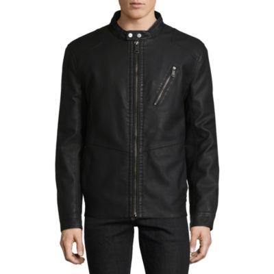 B By Bernardo Fashions Midweight Motorcycle Jacket
