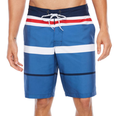 St. John's Bay Stripe Swim Shorts