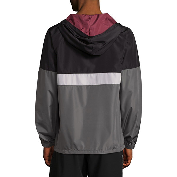 Beautiful Giant Hooded Windbreaker