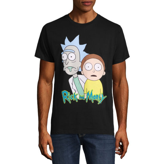Rick Morty Logo Graphic Tee