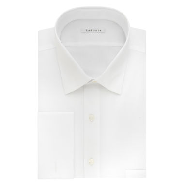 Van Heusen Long Sleeve Sateen Dress Shirt