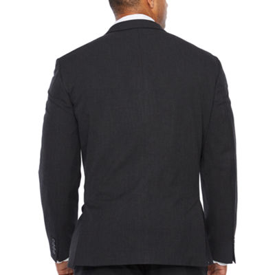 Van Heusen Pin Dot Slim Fit Stretch Suit Jacket-Big and Tall
