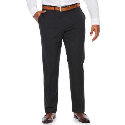 Van Heusen Pin Dot Stretch Slim Fit Suit Pants - Big and Tall