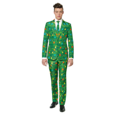 Suitmeister Green Christmas 3-pc. Suit Set