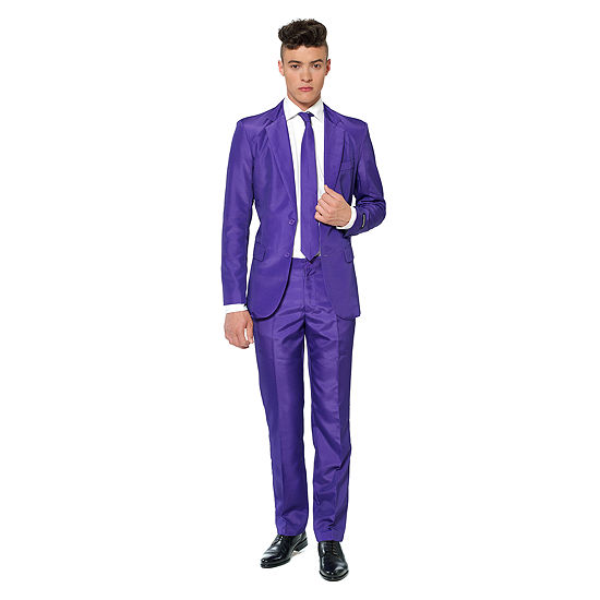 Suitmeister Solid Purple 3-pc. Suit Set