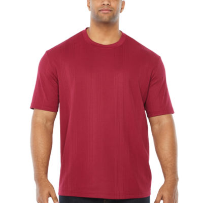 Claiborne Short Sleeve Crew Neck T-Shirt-Big and Tall
