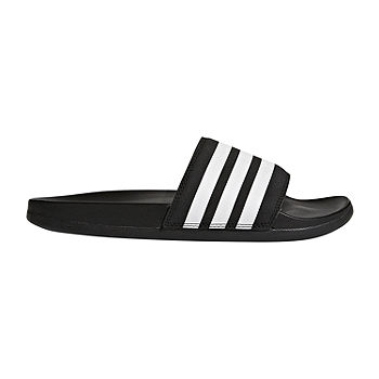 adidas Adilette Cloudfoam Striped Womens Slide Sandals