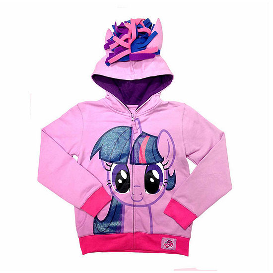 b76cd4bde61 My Little Pony Toddler Girls Twilight Sparkle Costume Hoodie with  Crystalline and 3D Mane and Wings - JCPenney