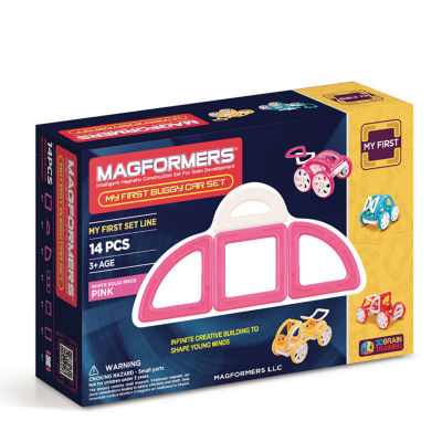 Magformers My First Buggy 14 PC. Set - Pink