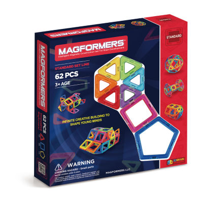 Magformers Rainbow 62 PC. Set