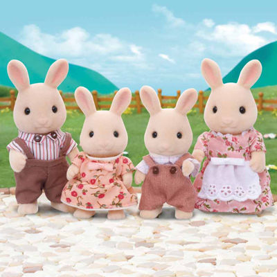 International Playthings - Calico Critters Sweetpea Rabbit Family