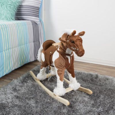Happy Trails Clydesdale Rocking Horse