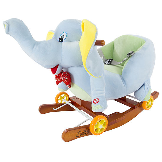 Happy Trails Rocking Elephant