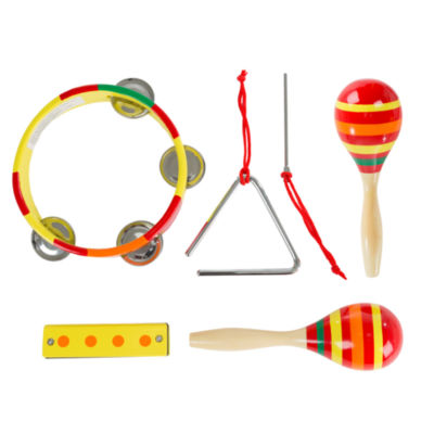 Hey! Play! Kids Percussion Music Toy Set