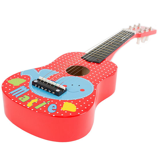 Hey Play Toy Acoustic Guitar With 6 Strings