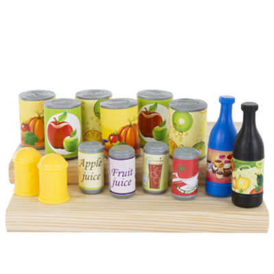 Hey! Play! Pretend Play Assorted Food Set