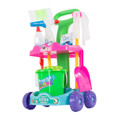 Hey! Play! Pretend Play Cleaning Set & Caddy