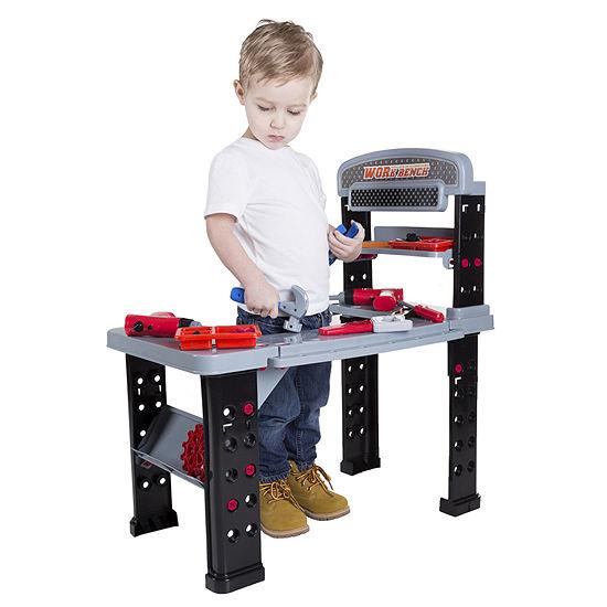 Hey! Play! Pretend Play Tool Set & Workbench