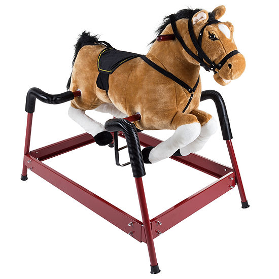 Happy Trails Spring Rocking Horse