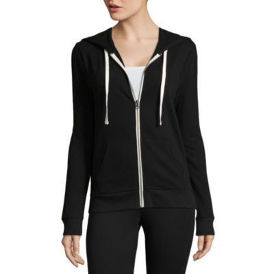Flirtitude Womens Long Sleeve Hoodie-Juniors