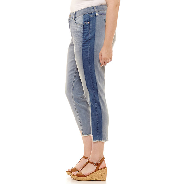 Arizona Skinny Fit Ankle Jean-Juniors Plus