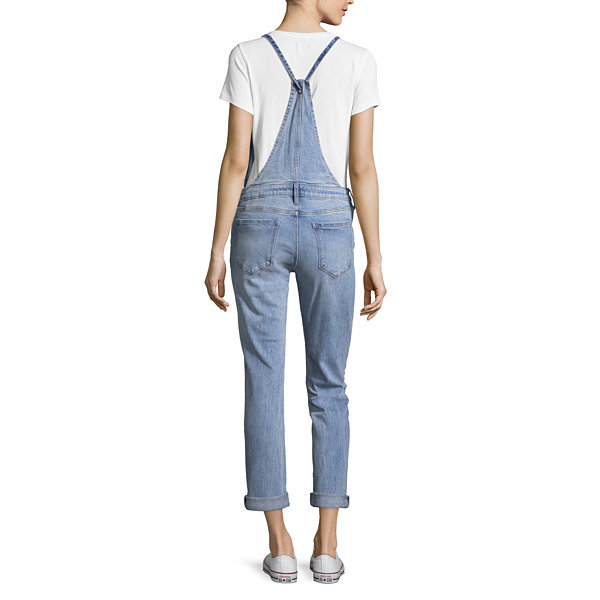 Arizona Button Front Overalls-Juniors