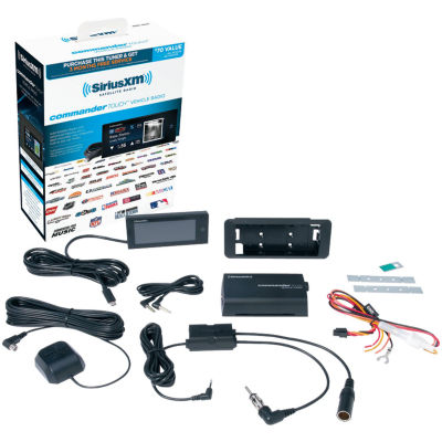 SiriusXM SXVCT1 Commander Touch Vehicle Tuner