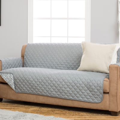 Katrina Collection Deluxe Reversible Quilted Sofa Protector