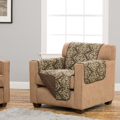 Kingston Collection Deluxe Reversible Quilted Chair Protector