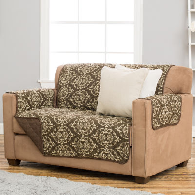 Kingston Collection Deluxe Reversible Quilted Loveseat Protector
