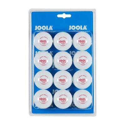 JOOLA 40mm 1-Star Table Tennis Training Balls (12Count) - White