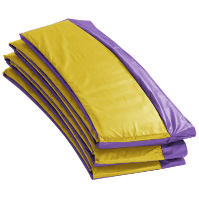 Super Trampoline Replacement Safety Pad (Spring Cover) Fits for 9 FT. Round Frames - Purple/Yellow