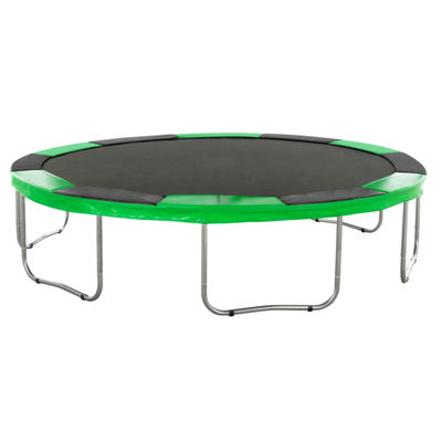 Super Trampoline Replacement Safety Pad (Spring Cover) Fits for 11 FT. Round Frames  - Black/Green