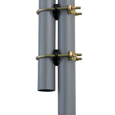 "Trampoline Enclosure Pole Connecter, Fits for poles measuring up to 1.5"" diameter, and up to 1.75"" diameter leg - set of 12"