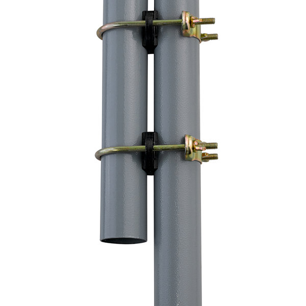 "Trampoline Enclosure Pole Connecter, Fits for poles measuring up to 1.5"" diameter, and up to 1.75"" diameter leg - set of 16"