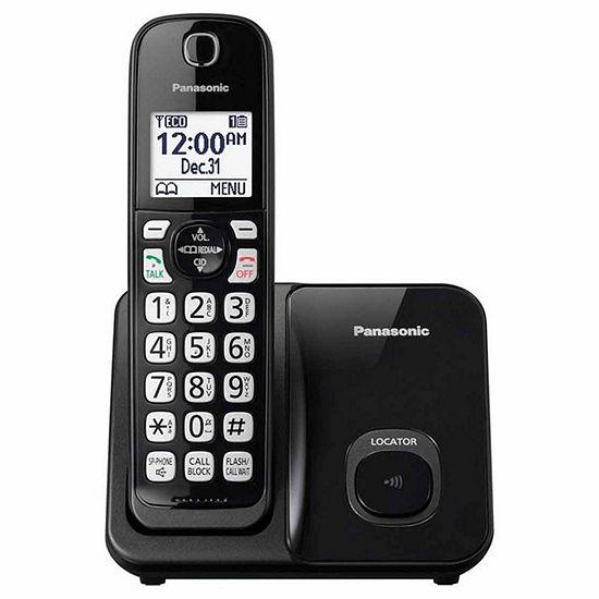 Panasonic KX-TGD510B DECT 6.0 Expandable Digital Cordless Phone with 1 Handset