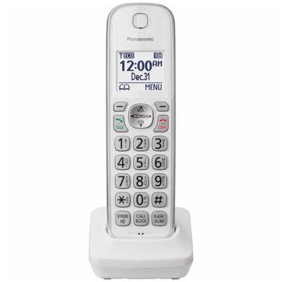 Panasonic KX-TGDA50W1 DECT 6.0 Cordless Expansion Handset - White