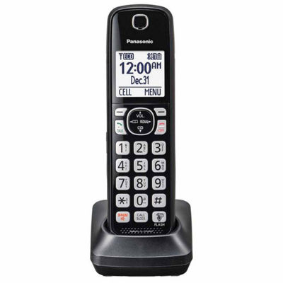 Panasonic KX-TGFA51B DECT 6.0 Additional Digital Cordless Handset - Black