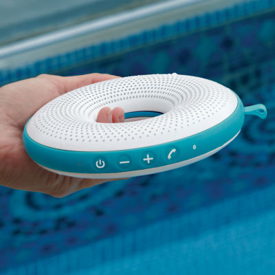 Brookstone Floating Waterproof Bluetooth Speaker
