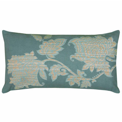 Rizzy Home Nicholas Floral Decorative Pillow