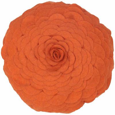 Rizzy Home John Floral  Decorative Pillow